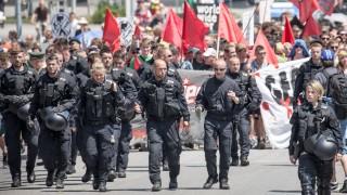 G7-Gipfel 2015 -  Demonstrationen