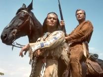 Pierre Brice als Winnetou und Lex Barker als Old Shatterhand
