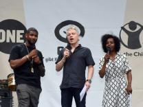 'Gemeinsam gegen Armut' anlässlich des G7-Gipfels