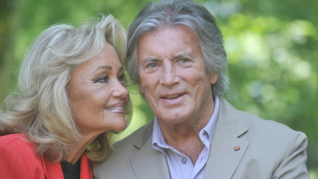 Pierre Brice und Ehefrau Hella