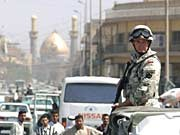 Soldaten im Irak; dpa