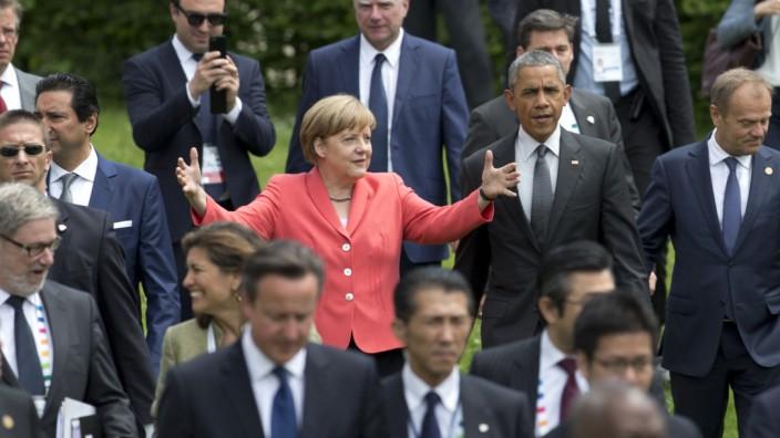 Barack Obama, Angela Merkel, Donald Tusk