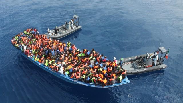 Flüchtlinge Mittelmeer