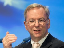 Eric Schmidt Speaks At CDU Economics Conference
