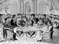 Wiener Kongreß 1814 bis 1815, Isabey-Gemälde und Karikaturen
