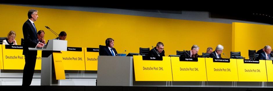 Hauptversammlung Deutsche Post DHL