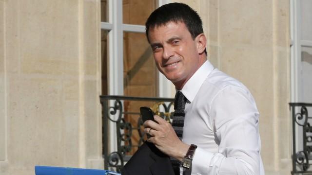 Frankreich: Manuel Valls