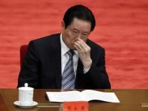 Li Keqiang, Zhou Yongkang