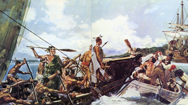 """Neuseeland, Abel Tasman, """"Bucht der Mörder"""""""