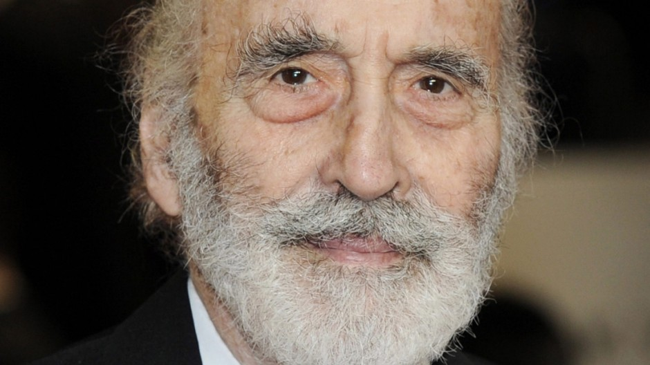 Christopher Lee dies at 93