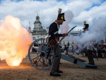 Beating the Retrat - 200 anniversary of the Battle of Waterloo