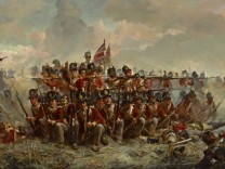 The 28th Regiment at Quatre Bras