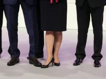 Männliche und weibliche Vorstandsmitglieder