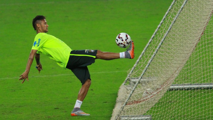 Training session of Brazil