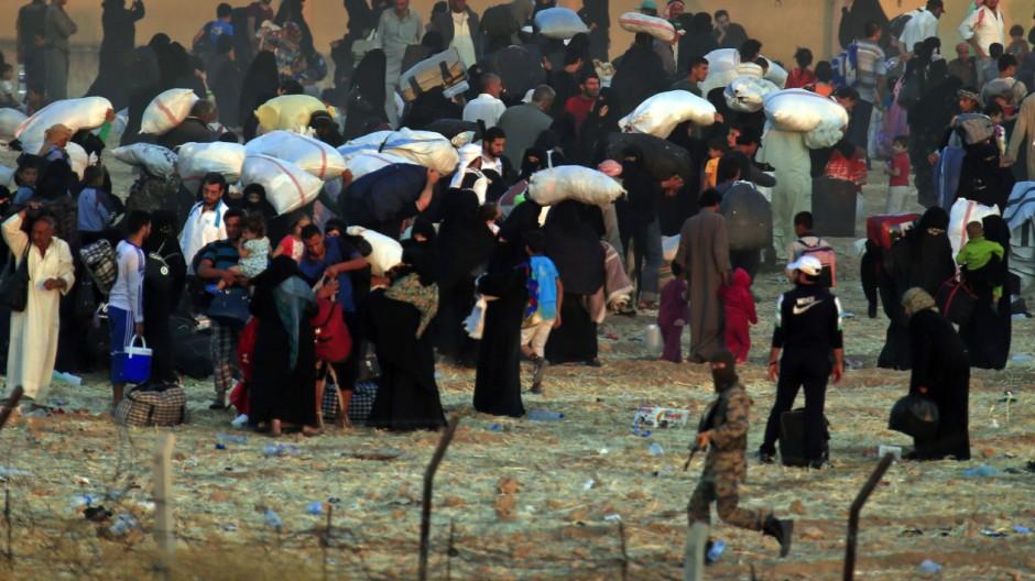 Krieg in Syrien Türkisch-Syrische Grenze