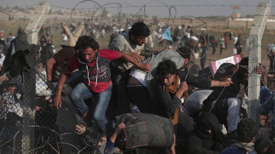 Syrien Flucht vor dem IS