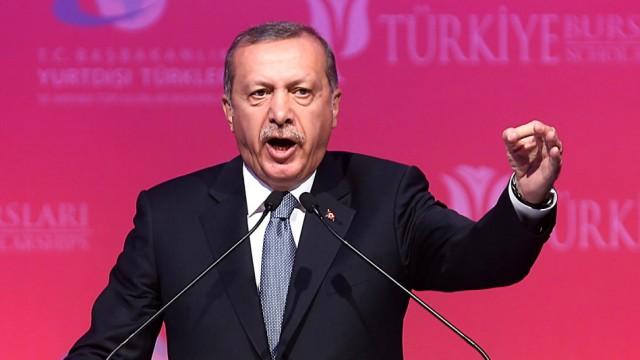 Recep Tayyip Erdoğan Regierungsbildung in der Türkei