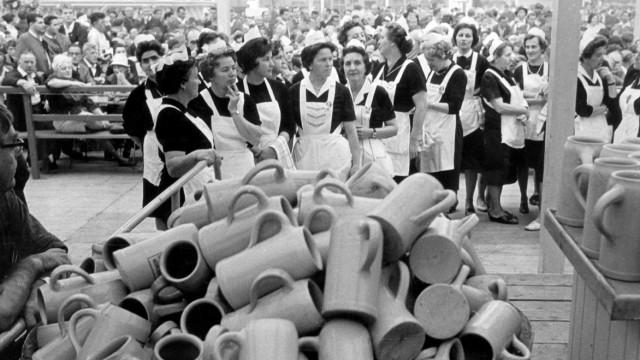 Oktoberfest in München, 1965