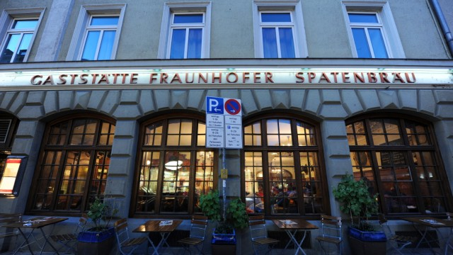Gaststätte 'Fraunhofer' in München, 2011