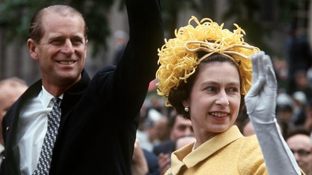 Königin Elizabeth - Staatsbesuch Deutschland 1965