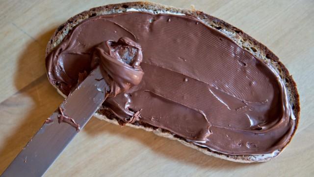 Nutella-Brot
