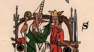 Geistliche,weltliche Macht/Sachsensp. - Clerical and secular power/Saxon Mirror -