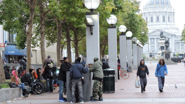 Obdachlosigkeit in San Francisco.