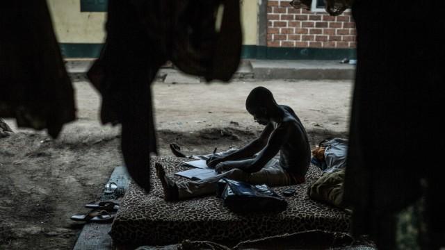Flüchtlinge in Bangui