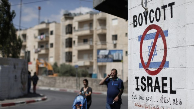 Boykott-Aufruf gegen israelische Produkte in Bethlehem