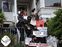 Proteste in San Francisco; San Francisco Gentrifizierung