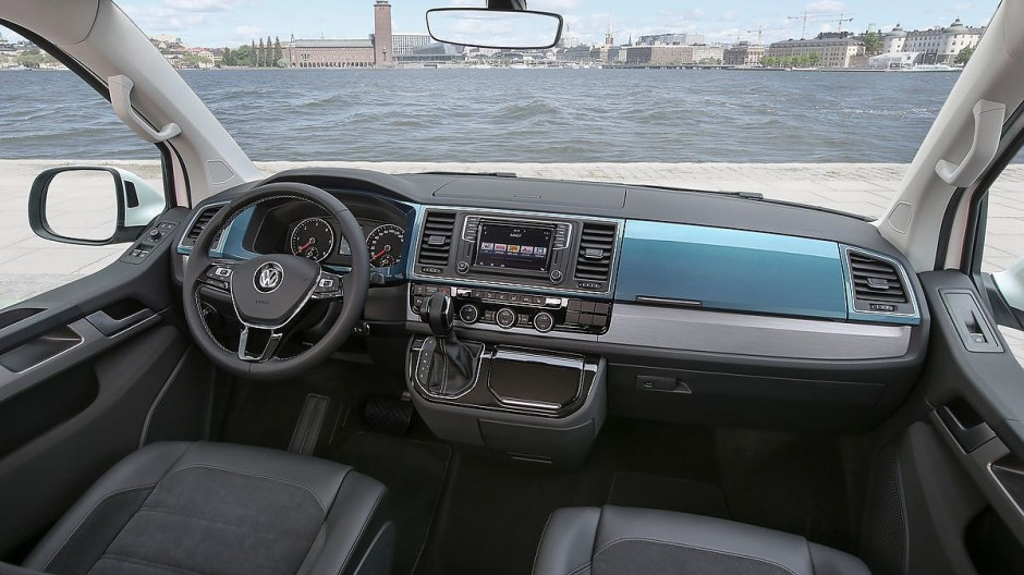 VW T6 im Fahrbericht - Beispiel Multivan: Weder in der - VW T6 ...