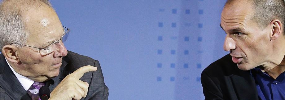 Griechenland am Abgrund Griechischer Sozialminister Skourletis