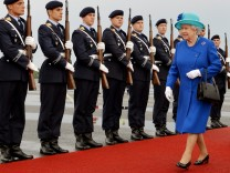 Queen Elizabeth II Visits Berlin