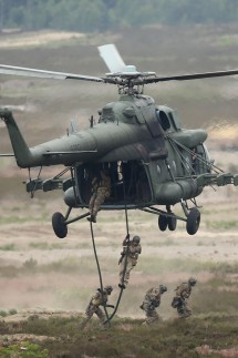 NATO Holds Noble Jump Exercises Of VJTF Forces