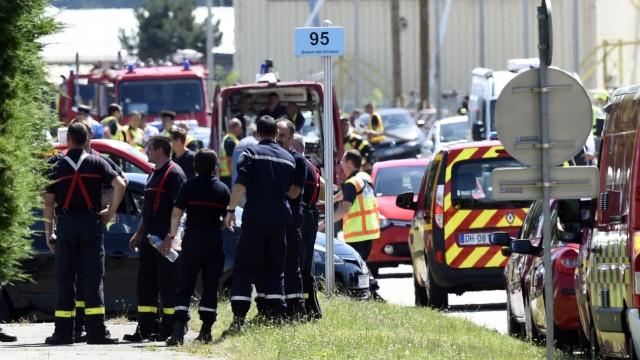 Terroranschlag bei Lyon Saint-Quentin-Fallavier