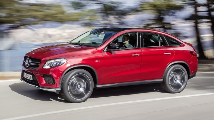 Das neue Mercedes GLE Coupé.