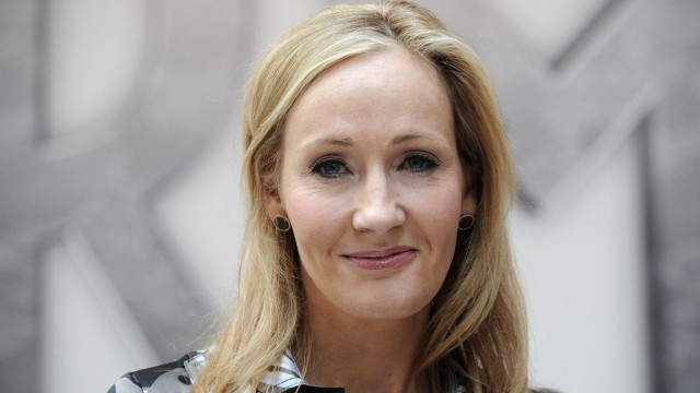 (FILES) In a file picture taken on June 23, 2011 Harry Potter creator J.K. Rowling poses for photographers in central London. British author J.K. Rowling, whose Harry Potter novels became global bestsellers, said on June 26, 2015 that an 'untold part' of