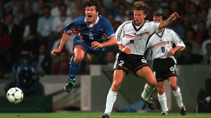 FUSSBALL: WM FRANCE 98 Lyon, 04.07.98