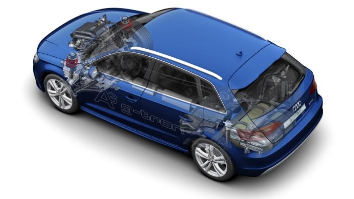 Die Technik des Audi A3 g-tron