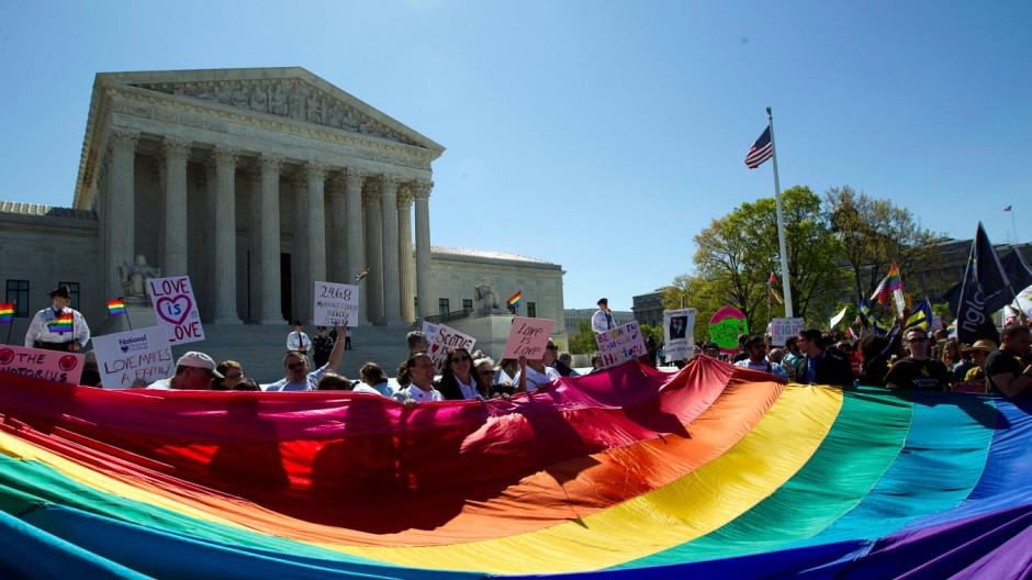Homo-Ehe Entscheidung des höchsten US-Gerichts