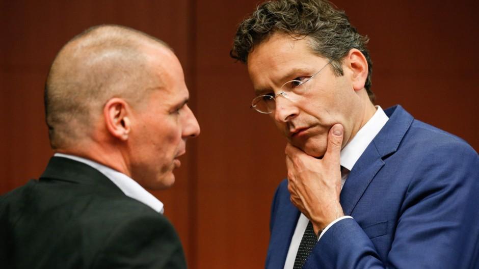 Vor Euro-Finanzminister Treffen