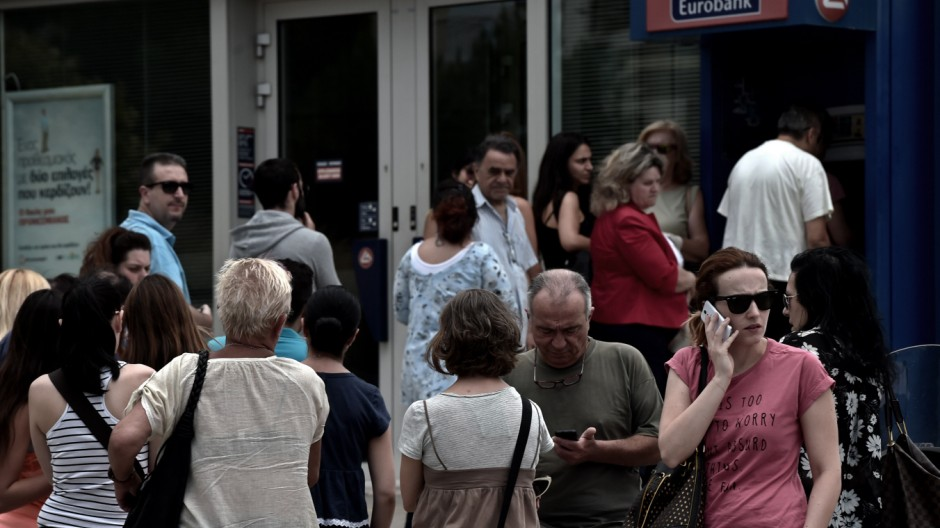 Griechenland am Abgrund Finanzkrise