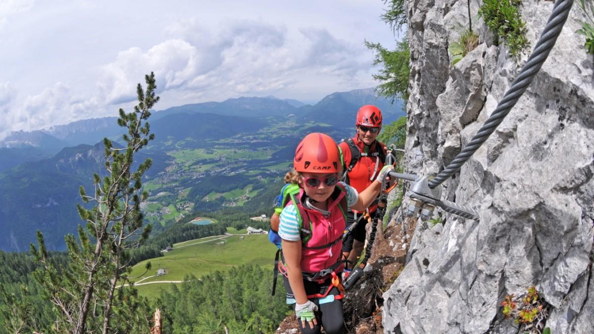 Klettersteig Königssee : Klettersteige in alpen neue routen für einsteiger und