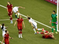 Soccer: Women's World Cup-Semifinal-United States at Germany