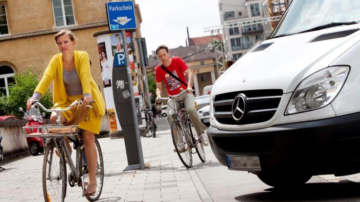 Sticker Für Radfahrer Kleben Gegen Den Frust München