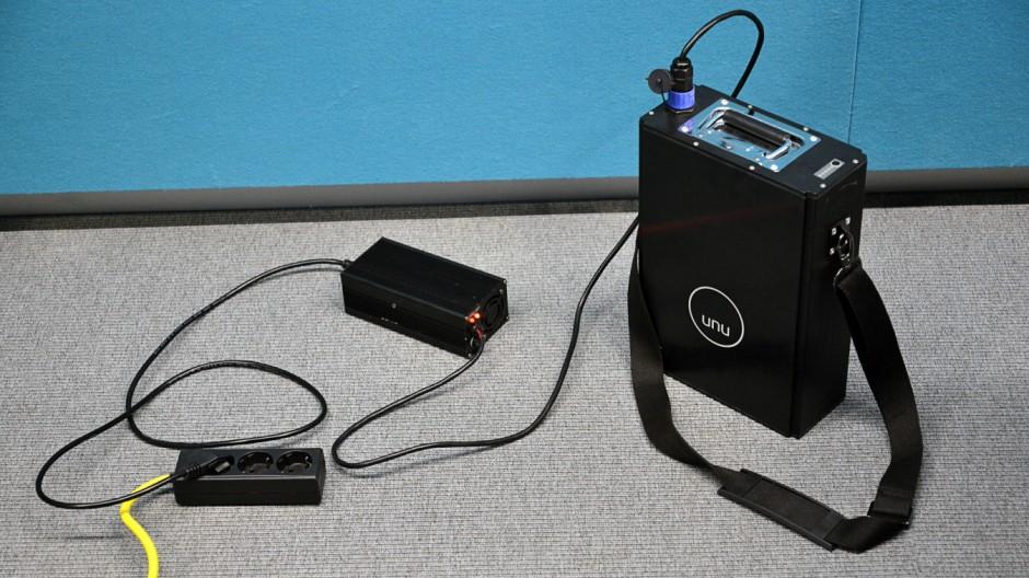 Elektromobilität Elektroroller unu im Test