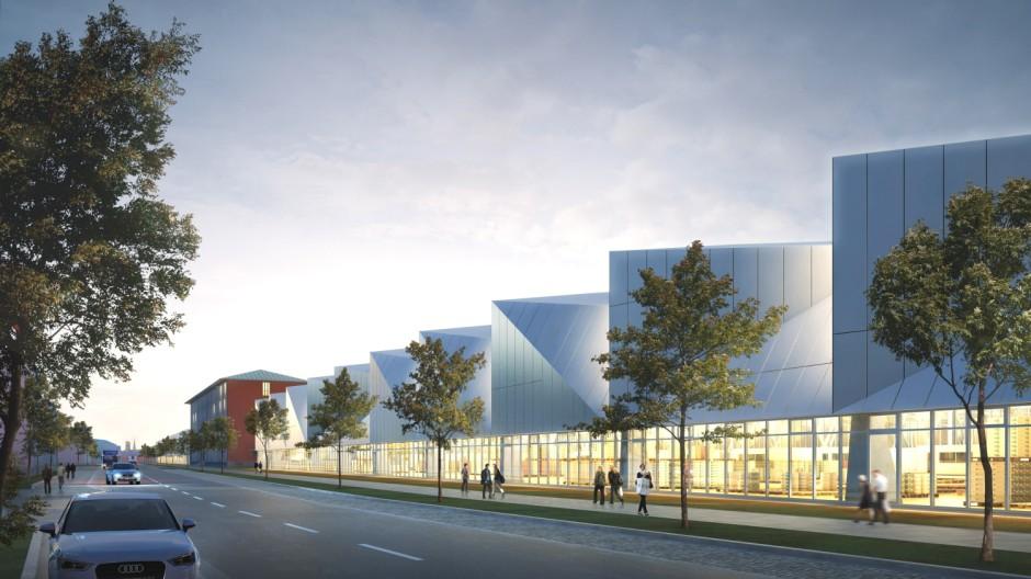 Großmarkt Neue Großmarkthalle