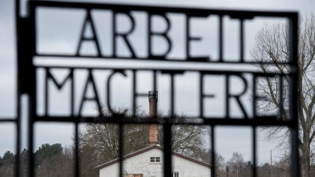 KZ Sachsenhausen Arbeit macht frei
