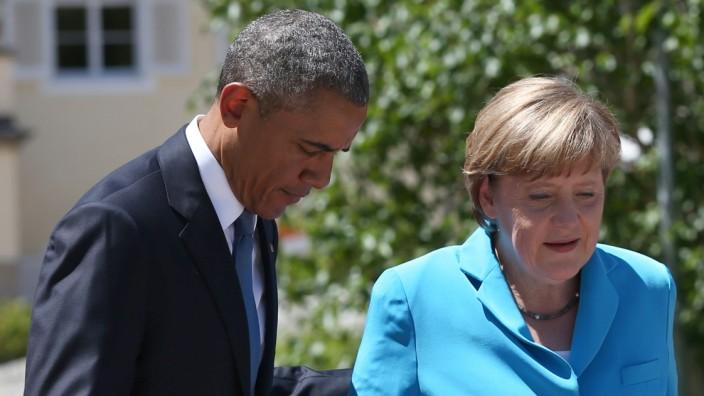 G7 Leaders Meet For Summit At Schloss Elmau