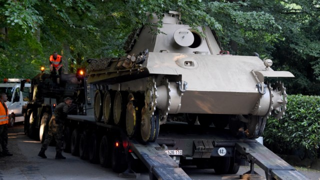 Suche nach Kriegswaffen in Heikendorf